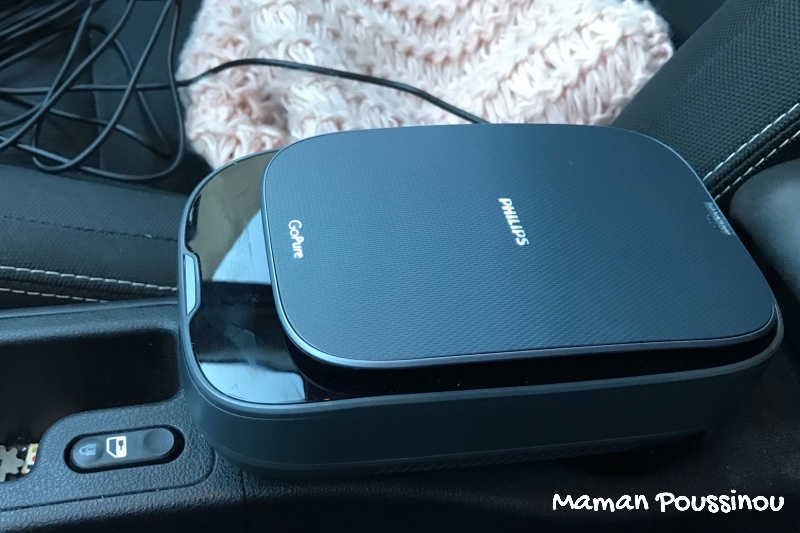 Purifier l'air de sa voiture avec GoPure de Philips