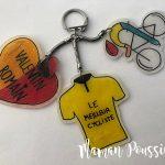 Un porte-clés en plastique fou pour la fête des pères #DIY