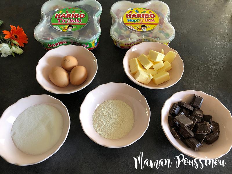 ingredients-gâteau--chocolat-rapide-facile