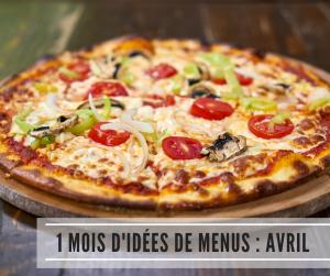 Read more about the article 1 mois d'idées de menus : Avril