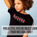 Voilà l'été, vite de jolis t-shirts pour mes garçons !