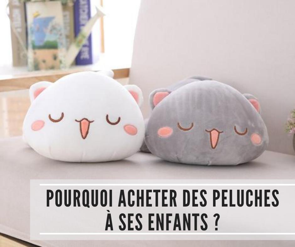 You are currently viewing Pourquoi acheter des peluches à ses enfants ?
