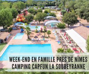 Read more about the article Week-end en famille au camping Capfun près de Nîmes (Gard)
